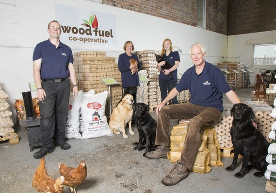 The Wood Fuel Co-operative team