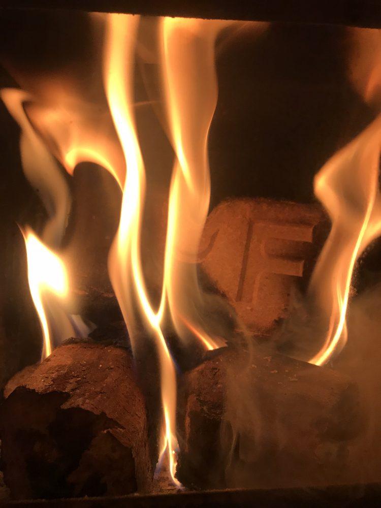 an ruf block burning